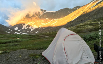 легкая двухместная палатка naturehike 2