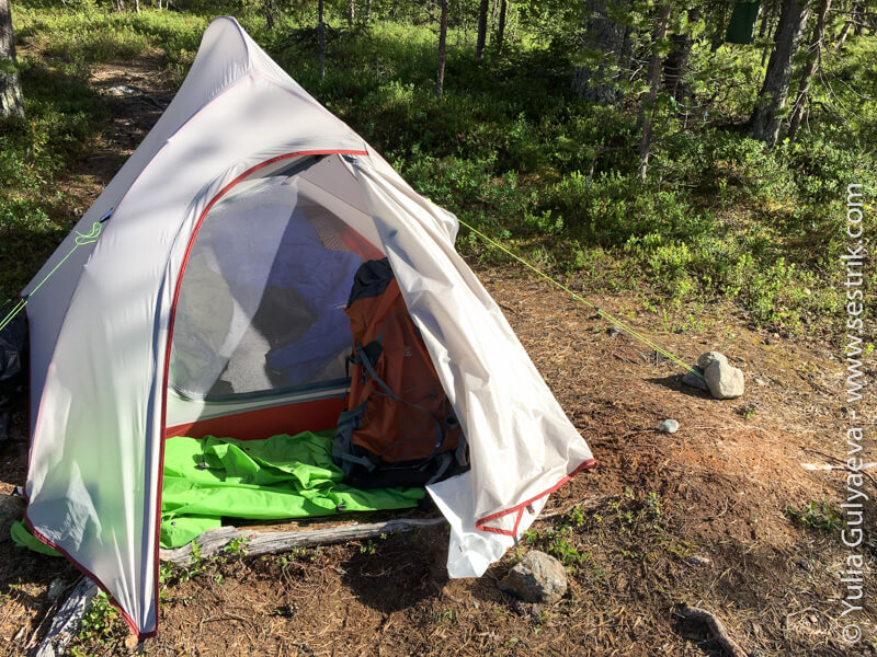 обзор палатки Naturehike