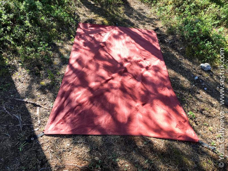 naturehike легкоходная палатка двухместная