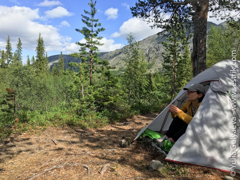 обзор палатки naturehike 2