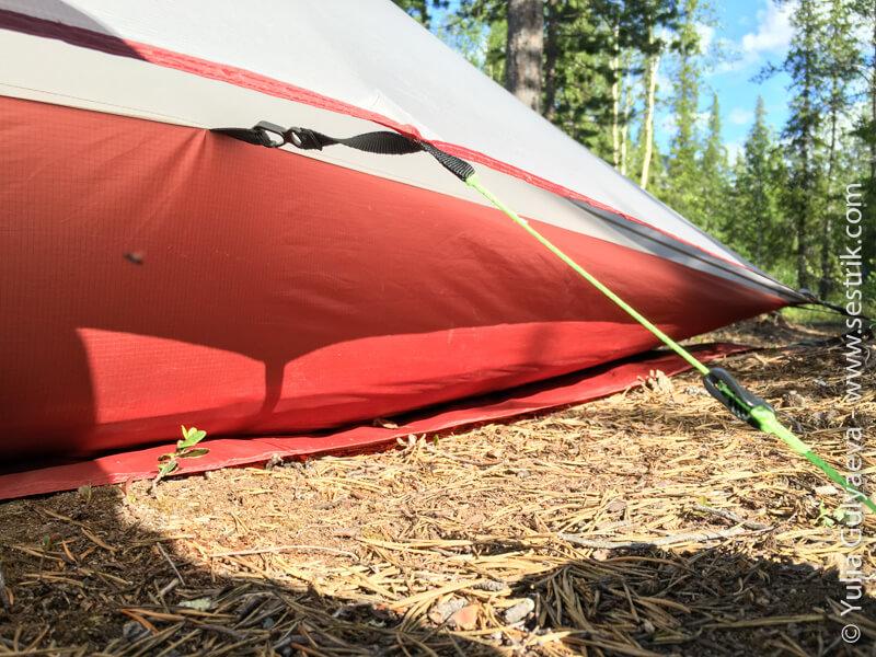легкая палатка на двоих
