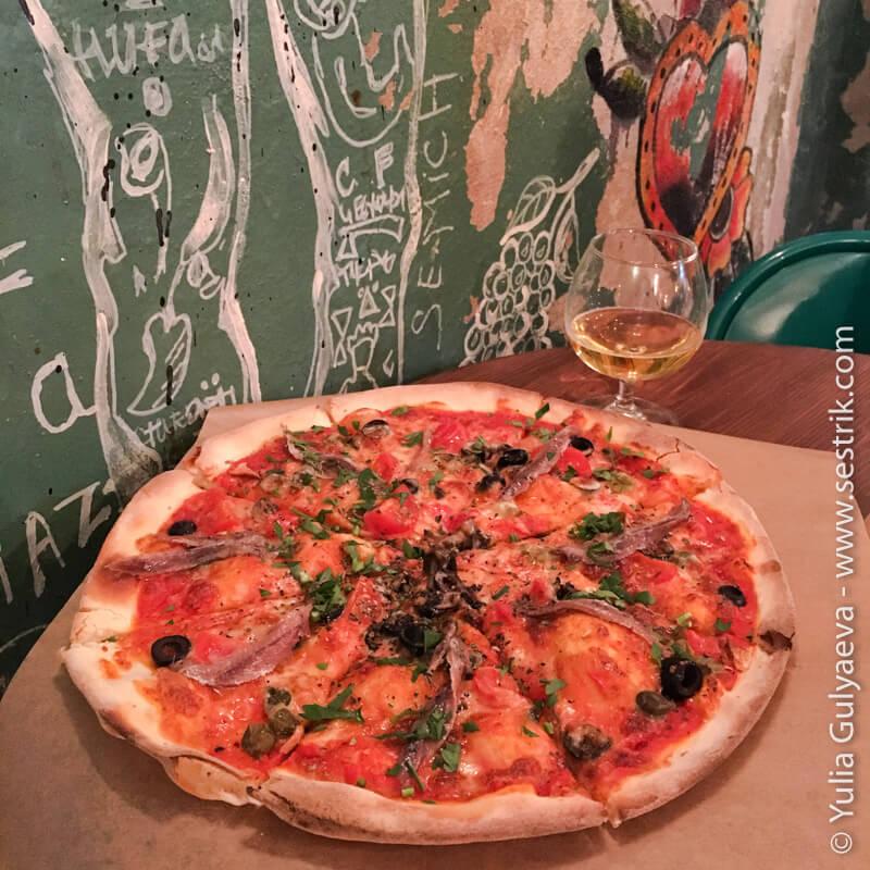 camorra-pizza в ковенском переулке