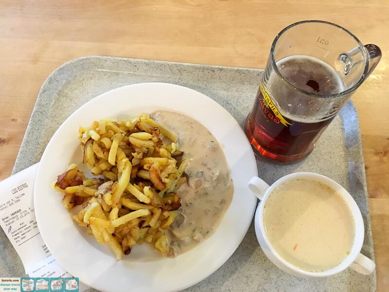 недорогой обед в центре Таллина
