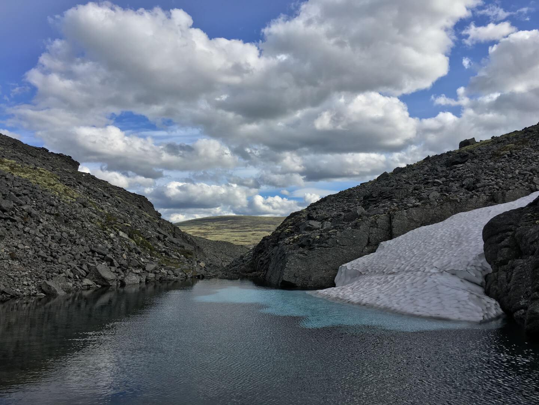 голубой лед хибин