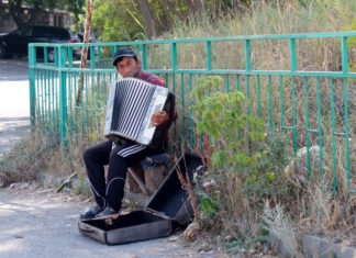 музыкант в армении