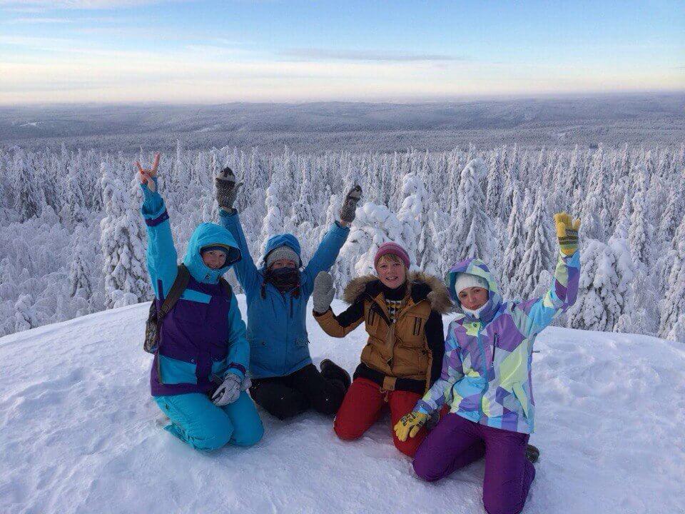 девушки сноубордистки