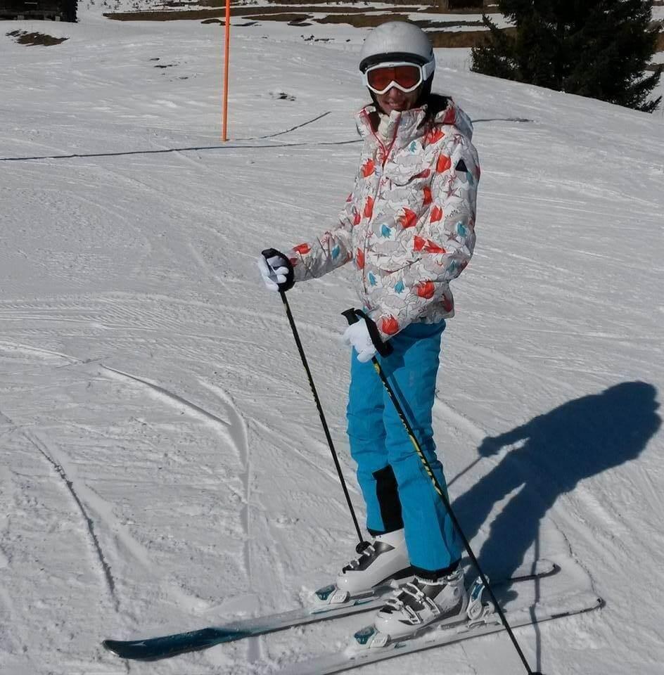 горные лыжи в тиролле