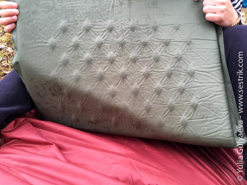 надувной коврик naturehike