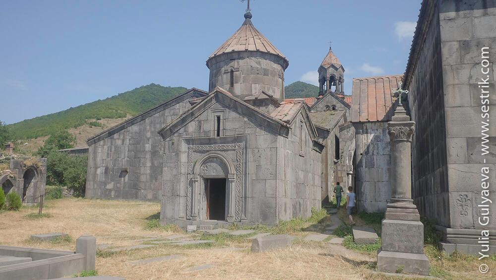 монастырь ахпат церкви