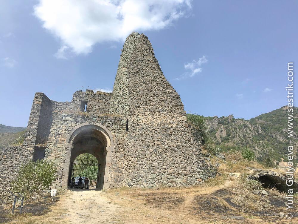 крепость ахтала