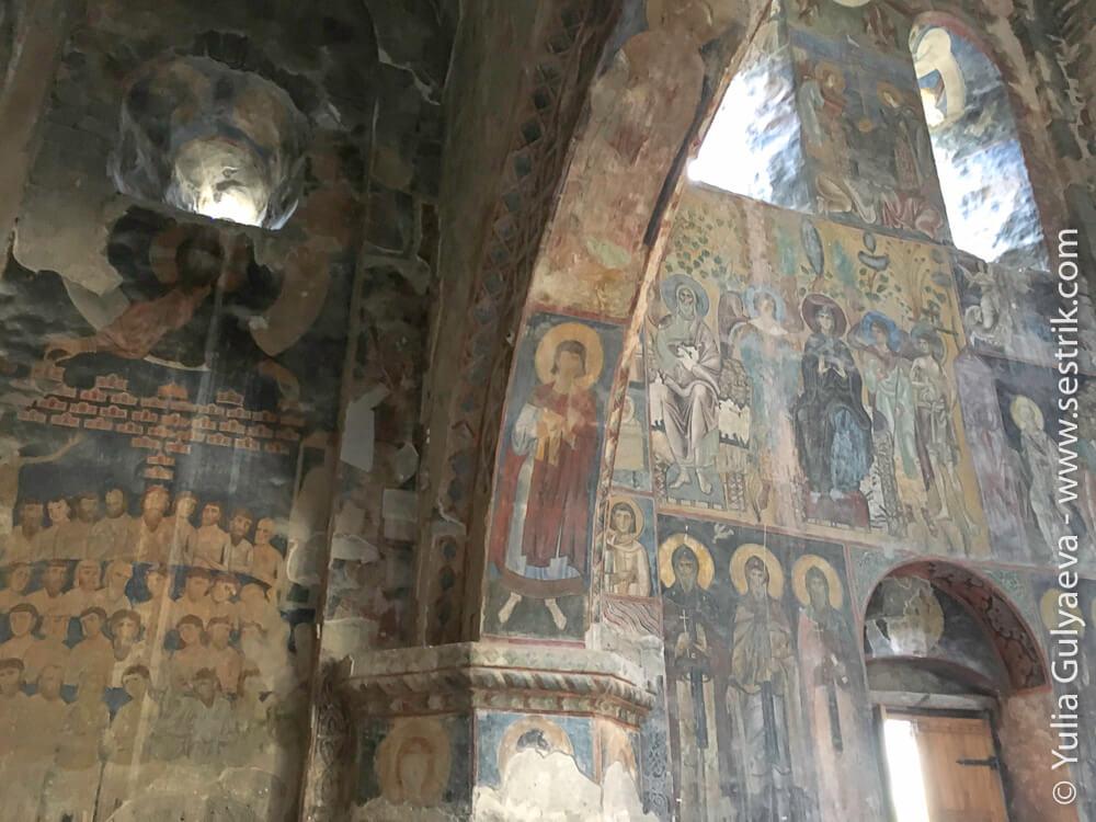фрески в Ахтале