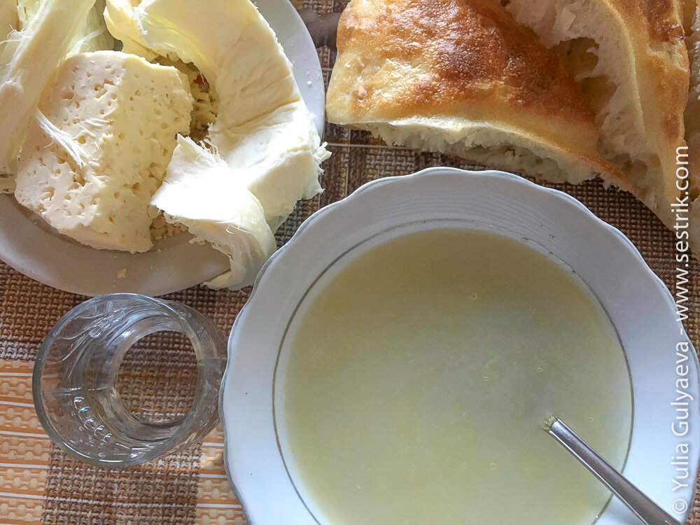 армянский хаш с водкой