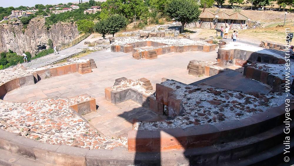 остатки церкви сурб сион в гарни