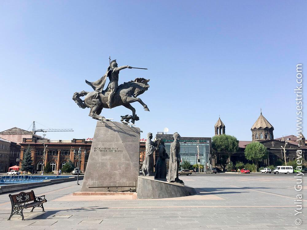 статуя варданяну