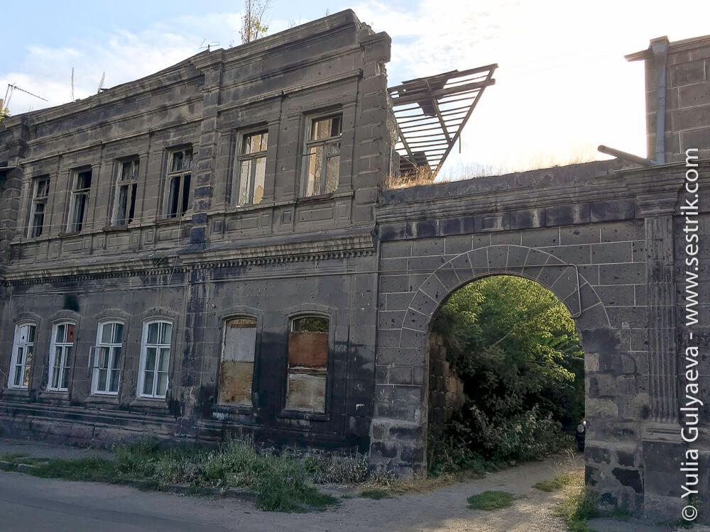 leninakan-дом на улице аджемяна в гюмри