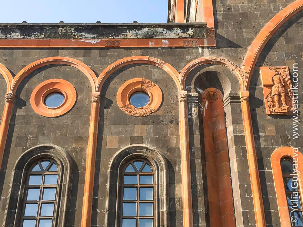 leninakan-восстановление храма всех святых в гюмри