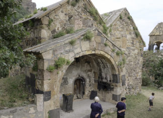 церкви в монастыре в ардви