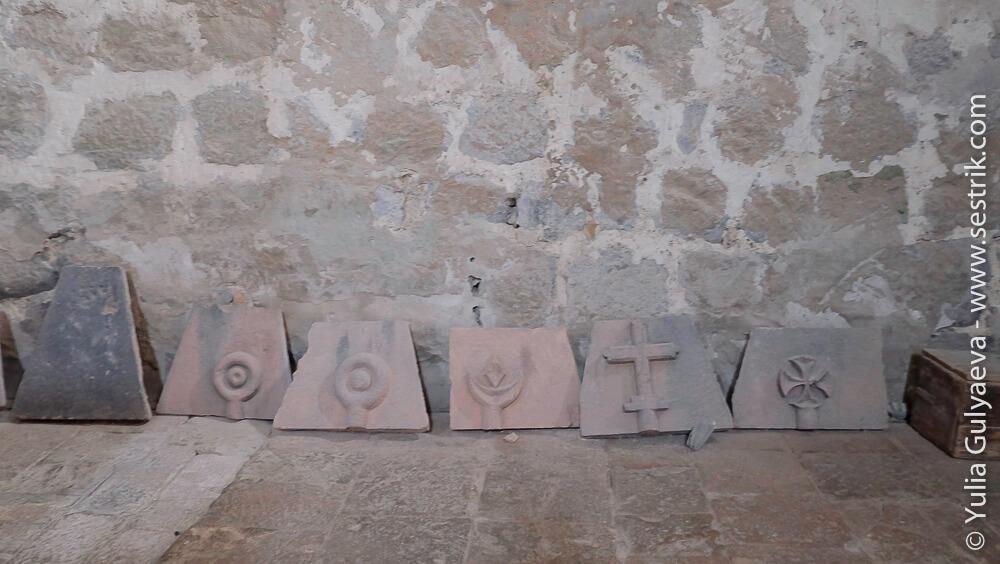 найденные артефакты в монастыре одзун