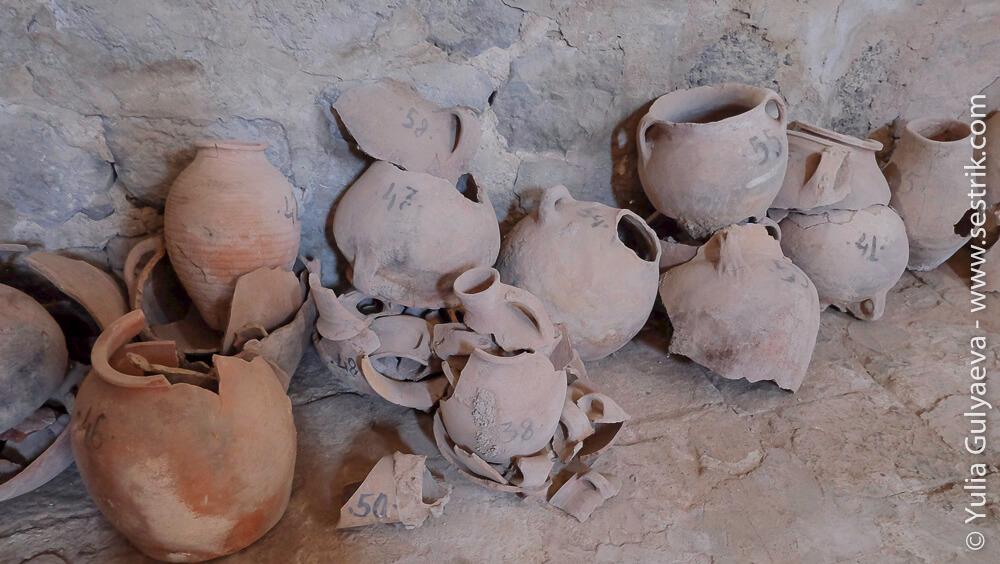 артефакты в монастыре одзун
