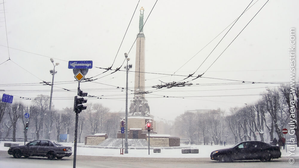 столица латвии на новый год