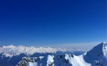 горы на Розе Хутор