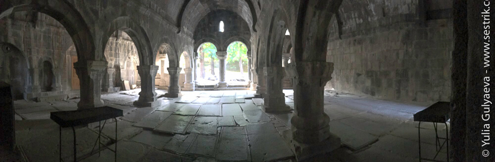 панорама гаита в монастыре санаин