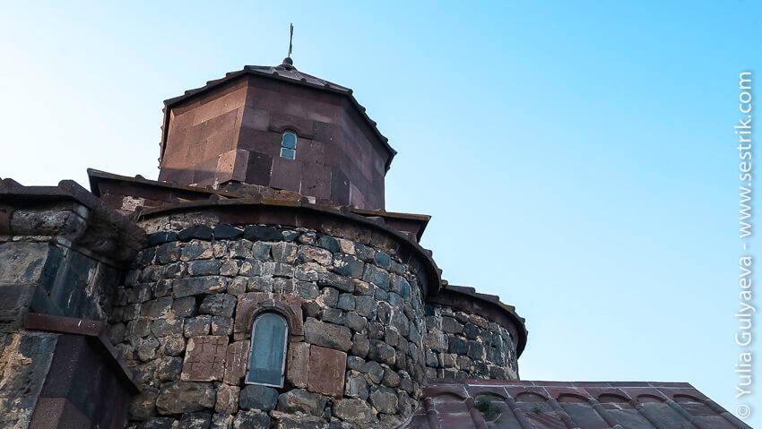 армянское зодчество в айраванк