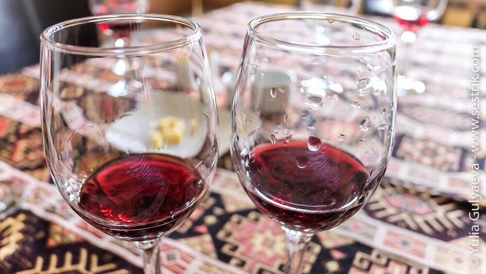 красное вино в аремении арени