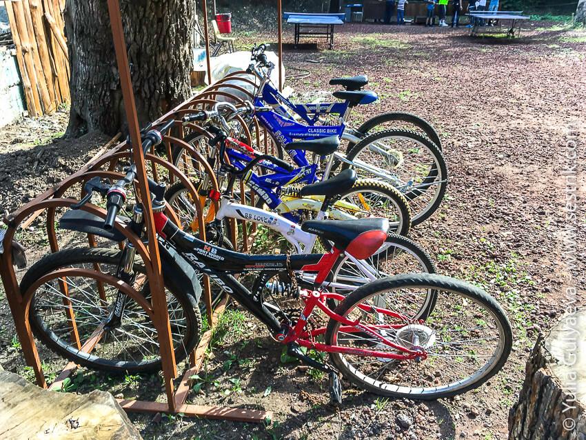 велосипеды в аренду в дилижане