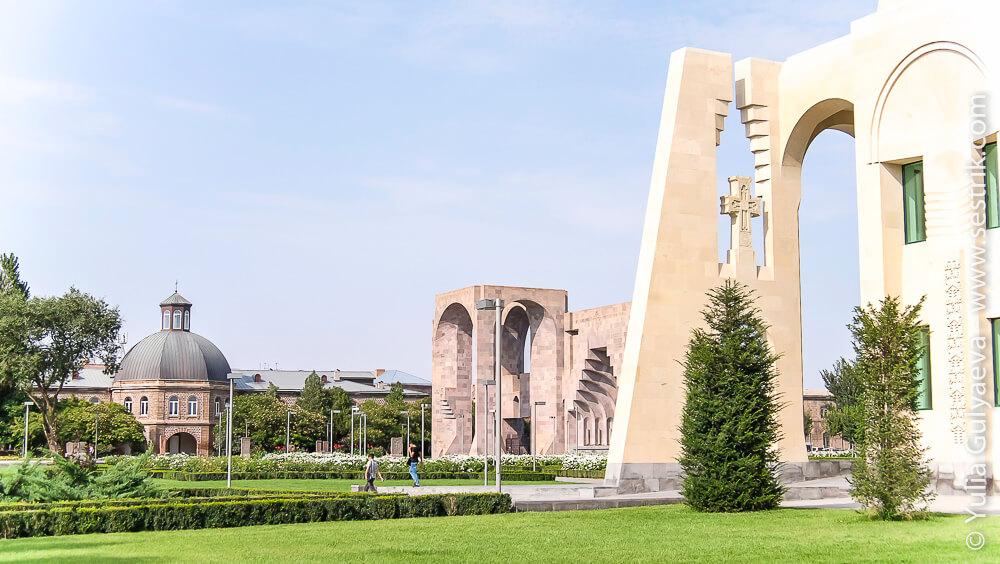 echmiadzin-armenia-резиденция католикоса всех армян