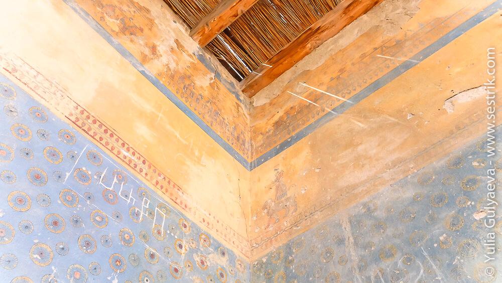 элементы росписи крепости эребуни