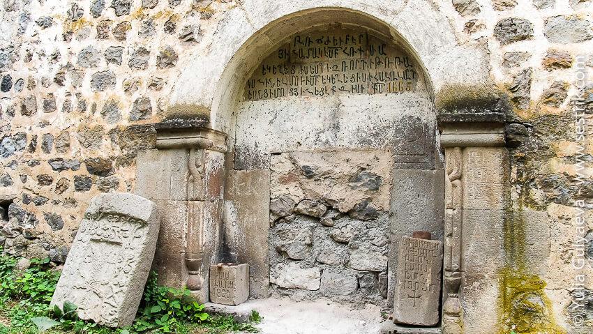 hndzoresk-armenia-стена храма
