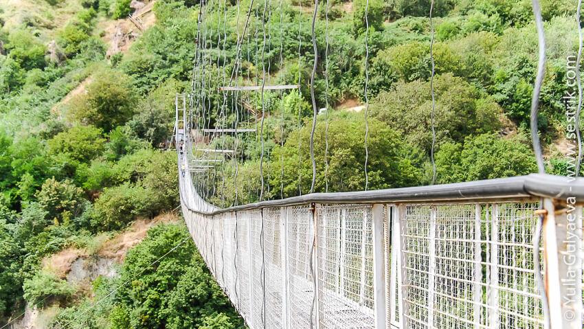 hndzoresk-armenia-мост через ущелье