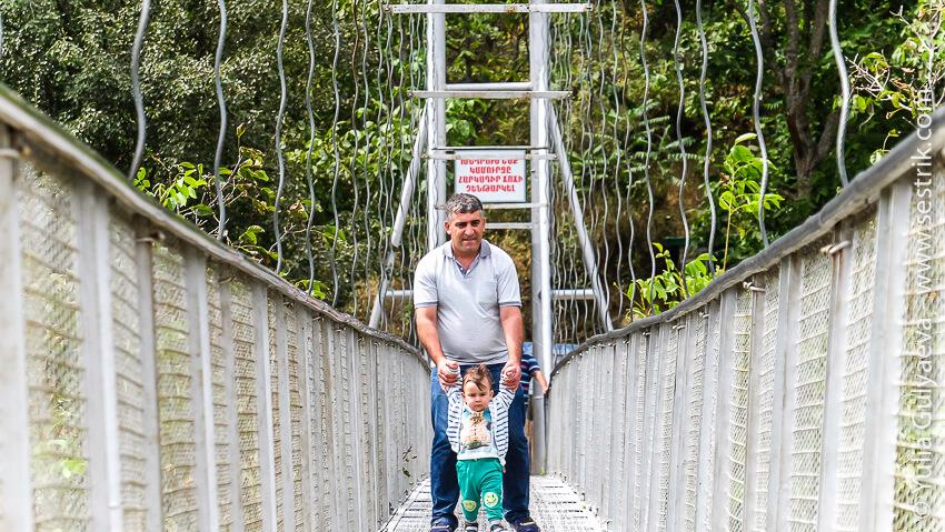 hndzoresk-armenia-подвесной мост