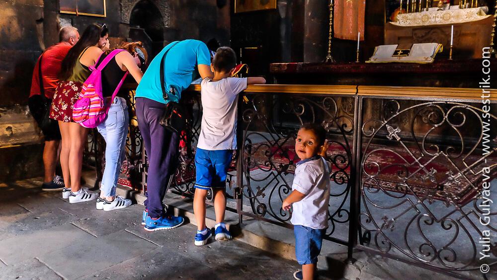 в монастыре хор вирап