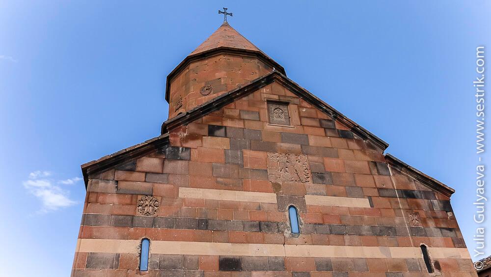 купол церкви в хор вирап