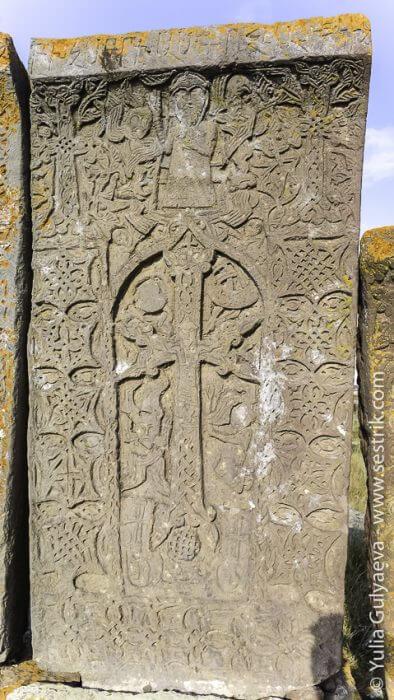 noratuz-armenia-каменный крест в норатуз