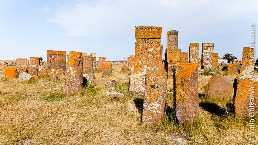 кладбище крестов в армении
