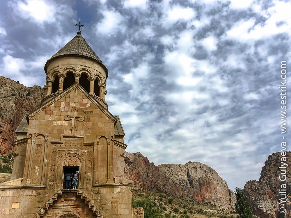 нораванк церковь сурб аствацацин