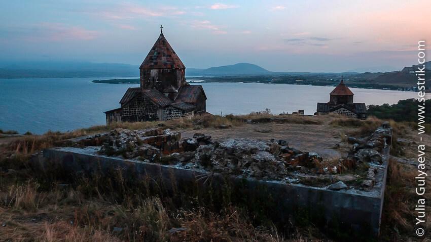 руины в севанаванк