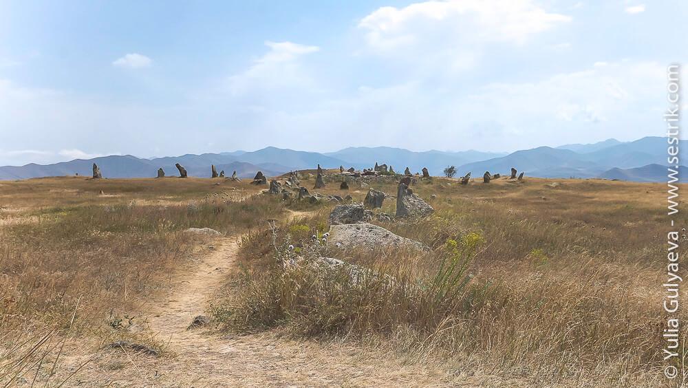 караундж в армении фотографии камней