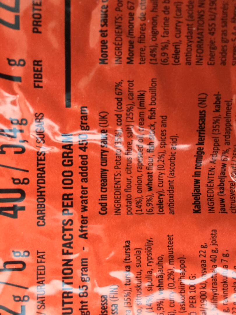 треска с картошкой сублиматы real turmat
