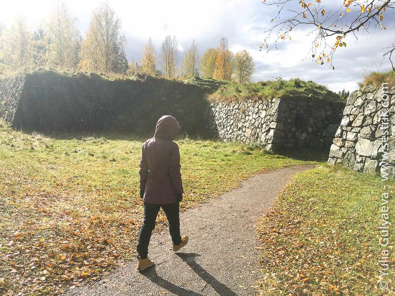 крепость Кярнакоски