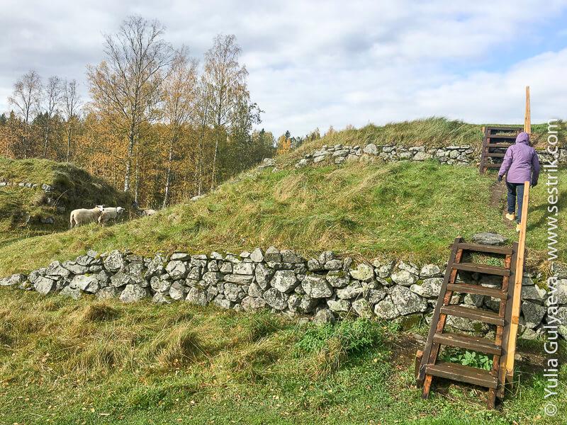 Kyarnakoski-Finland-крепость Суворова