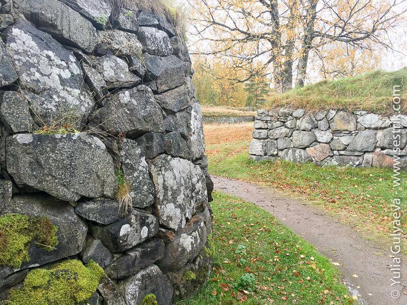стены крепости близ Лаппеенранты