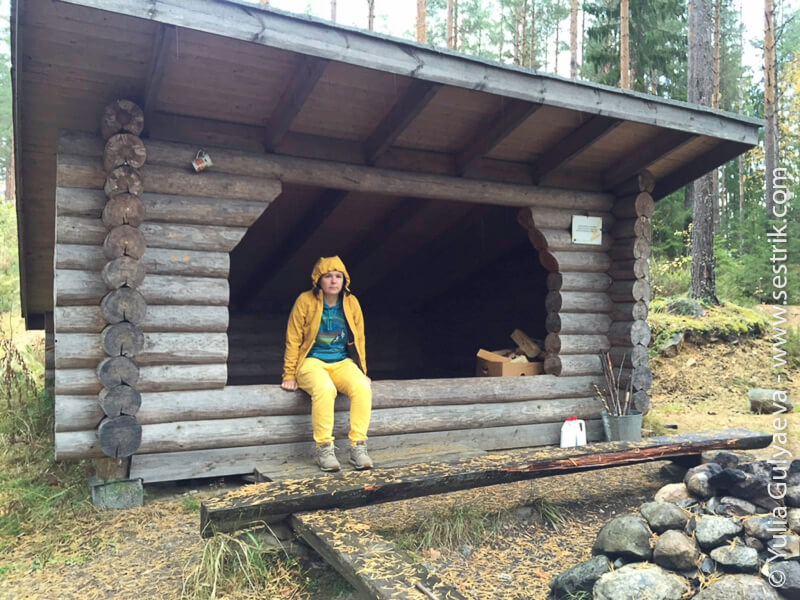 Onkilampi-tropa-Finland-laavu