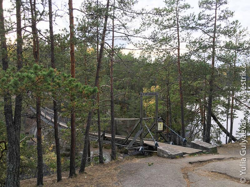 Repovesi мост Лапинсалми