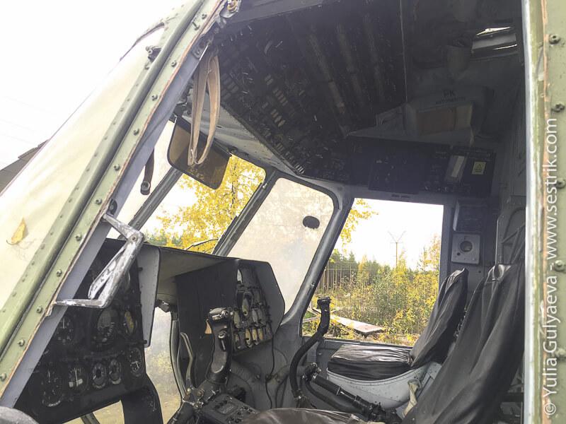заброшенный вертолет Аэрофлота в Финляндии