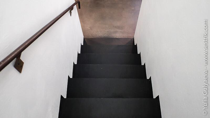 лестница в музее киасма