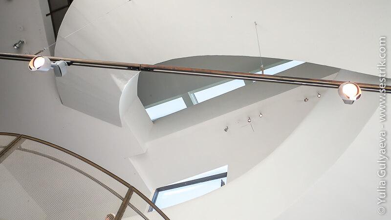 внутри музея Киасма